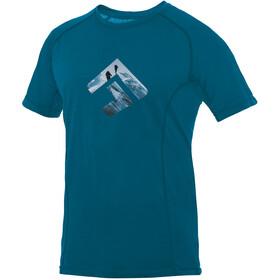 Directalpine Furry 1.0 Bluzka z krótkim rękawem Mężczyźni niebieski